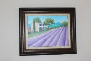 Lavender stoep